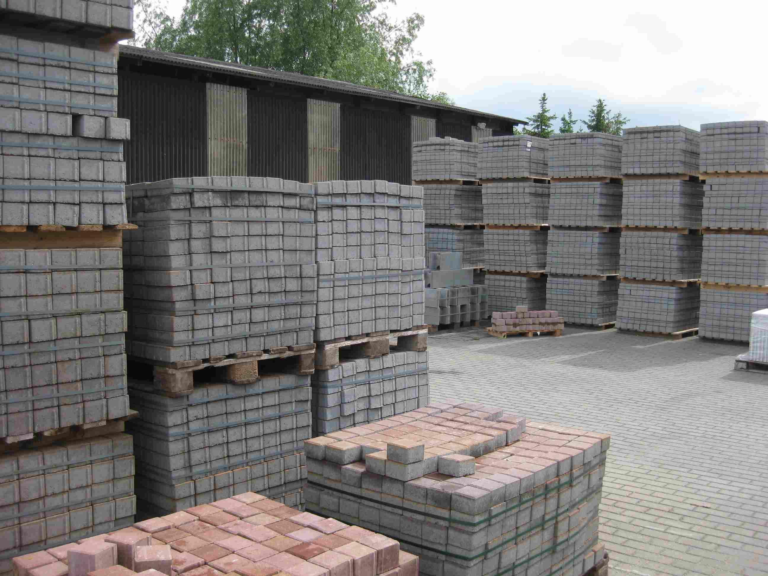 Pflastersteine Palette Mischungsverh Ltnis Zement